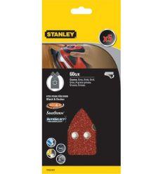 Accesorio sta31437xj 5 lijas triangular velcro g-060 de stanley