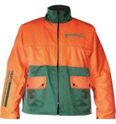 Chaqueta forestal frs-300 talla-l naranja/verde de 3l