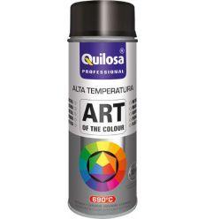 Spray pintura anticalorico negro 690º 400ml de quilosa caja de 6 unidades