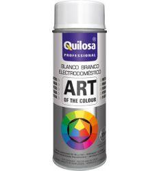 Spray pintura blanco electrico ral9016 400ml de quilosa caja de 6 unidades