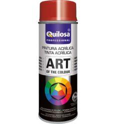 Spray pintura blanco mate ral9010 400ml de quilosa caja de 6 unidades