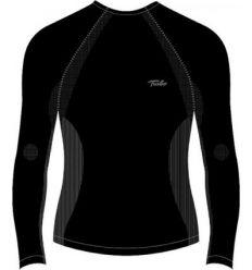 Camiseta manga larga climather 11815 negro talla-m de turbo