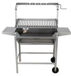 Barbacoa inox 720-b 1120x1250x430mm de jr.baluja