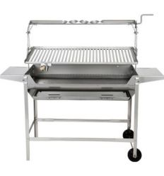 Barbacoa inox 980-b 1500x1250x430mm de jr.baluja