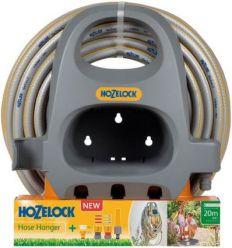 Kit manguera con accesorios 23640000 20m 12,5mm+soporte de hozelock