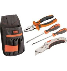 Set electricista 4pz 171112 bolsa nylon de hr