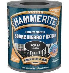 Hammerite metalico forja 750ml gris de hammerite caja de 6 unidades