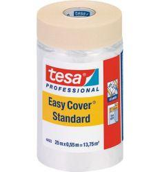 Cinta con plástico 4403 easy cover 055cmx25m de tesa-tape caja de 25 unidades