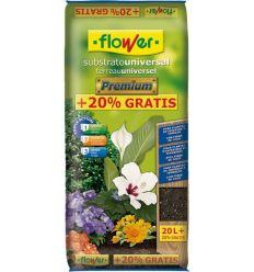 Substrato universal premium 4-80154 20l + 20% de flower