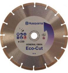 Disco segmentado g.obra eco-cut 230 de husqvarna