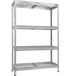 Kit 4 estanteria riv s300 180x120x45 galvanizada de ar