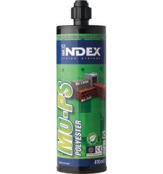 Resina polyester s/estireno mops410ml de index caja de 12 unidades
