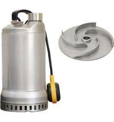 Bomba sumergible drenaje drx10 m aut 1,0hp de saci