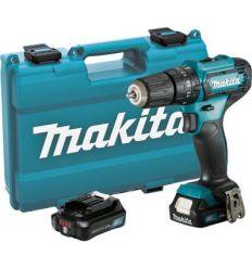 Taladro atornillador percutor hp333dsae 10,8v 2b 2ah de makita