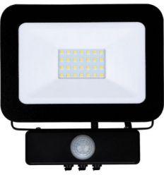 Proyector led negro 20w sensor 6000k ip65 de marca