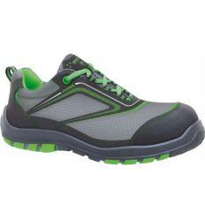 Zapato nairobi s3 c/punt+plant talla-43 verde de panter