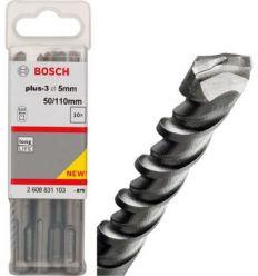 Broca sds plus-3 05x050x110 de bosch construccion / industria caja de 10 unidades