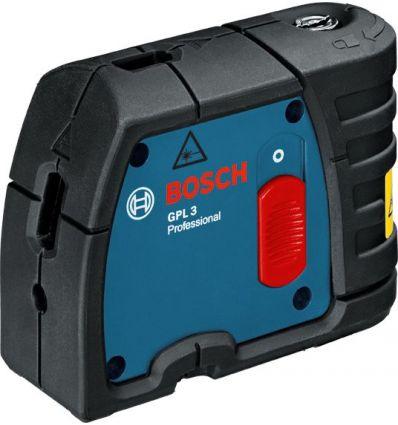 Nivel laser gpl 3 puntos profesional 30m de bosch construccion / industria