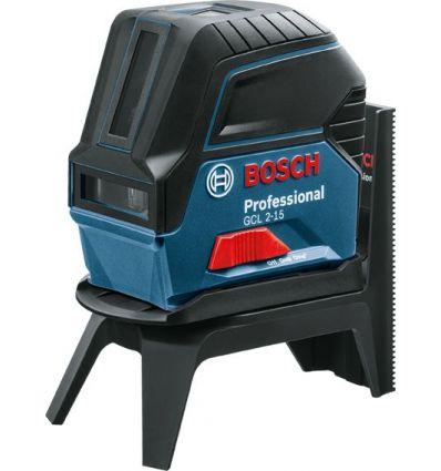 Nivel laser gcl 2-15 autonivelante+rm1 de bosch construccion / industria