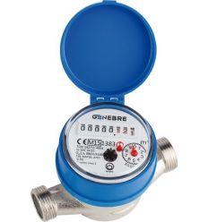 Contador agua qn-1,5f 6110c 05 c/racores de genebre