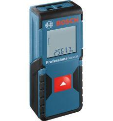 Medidor laser glm-30 profesional de bosch construccion / industria