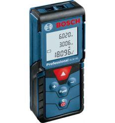 Medidor laser glm-40 profesional de bosch construccion / industria