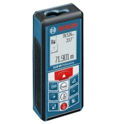 Medidor laser glm-80 profesional de bosch construccion / industria