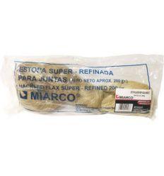 Madeja estopa 200g super refinada de miarco