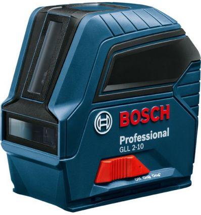 Nivel laser gll2-10 3pilas 1,5v ip54+bol de bosch construccion / industria