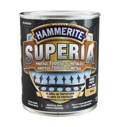 Hammerite superia mate 750ml negro caja de 3 unidades