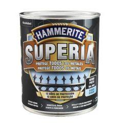 Hammerite superia liso 750ml negro caja de 3 unidades