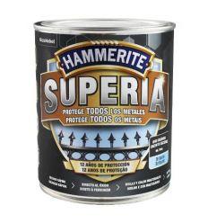Hammerite superia liso 750ml gris caja de 3 unidades