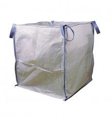 Saco big bag 90x90x100 1000kg blanco de tecnopacking