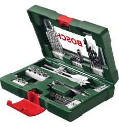 Set taladradar/atornillar v-line 41piezas+maletin de bosch bricolaje
