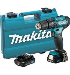 Taladro percutor hp333dsae 12v 2 baterias de makita