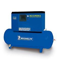 Compresor silencioso con calderín y secador CA-MCXD998/500N de Michelin