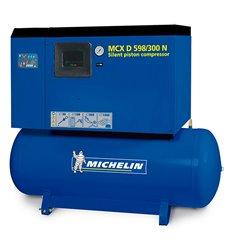Compresor silencioso con calderín y secador CA-MCXD598/300N de Michelin