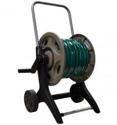 Carro portamanguera metal/plastico con 25m ø15+racores y lanza 80515816 de aqua