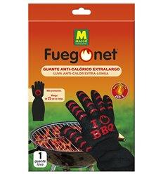 Guante anticalorico extralargo 231631 de fuego net