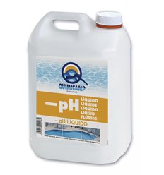 Reductor ph liquido piscinas 10l 208610 de quimicamp