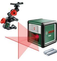 Nivel laser quigo iii autoniv.+sop+pilas de bosch bricolaje